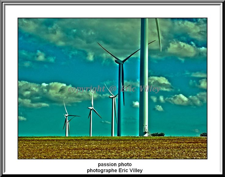 wind turbines of Haute Marne... new series by Artiste photographe amateur--ERIC VILLEY