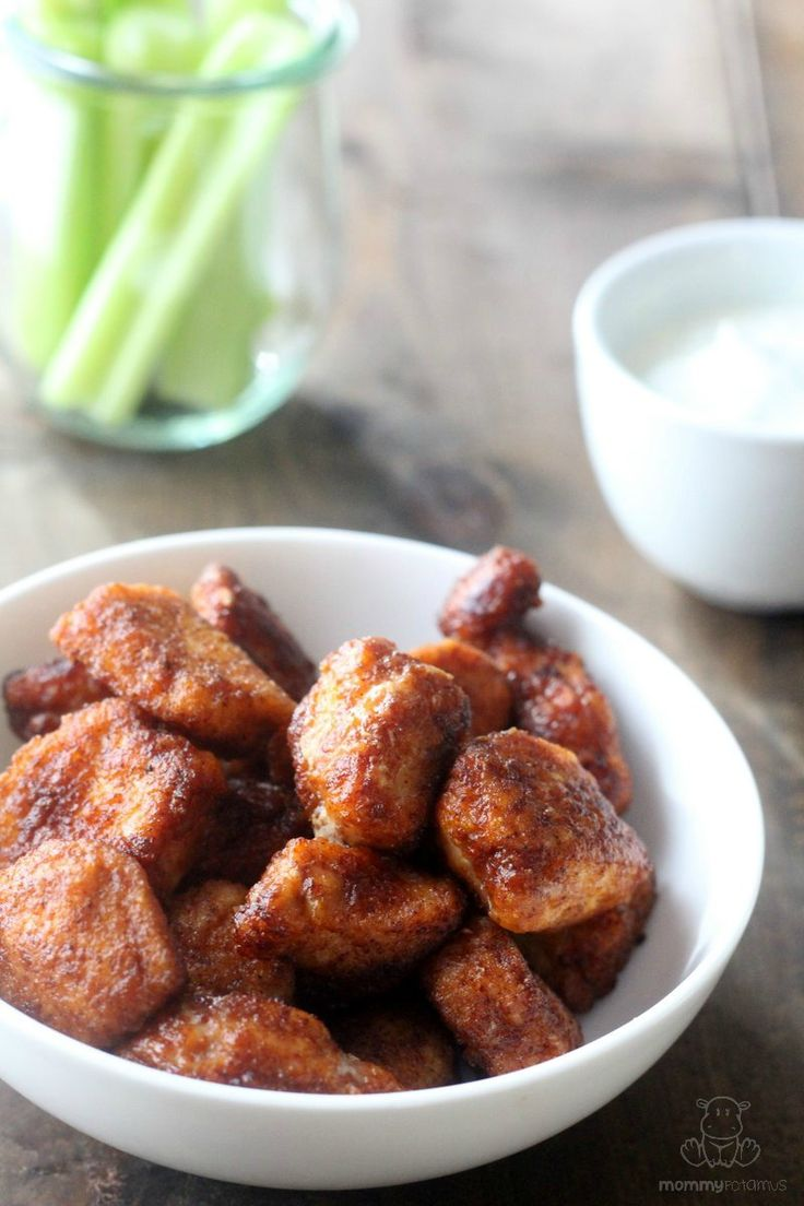 Quick homemade chicken nuggets - made them with tapioca still yummy #paleo #glutenfree