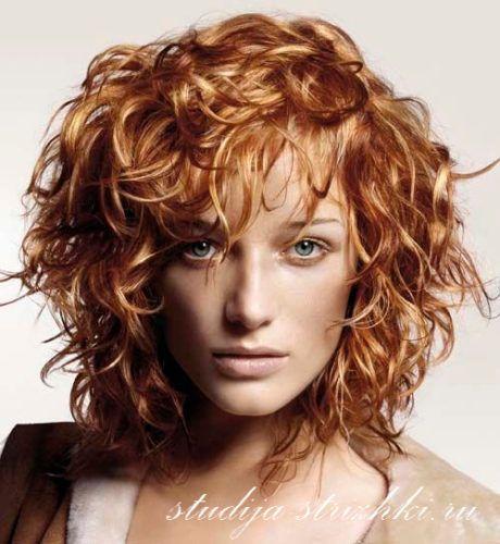 Укладка с эффектом мокрых волос