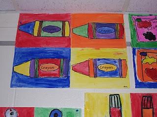 Kindergarten-Andy Warhol & Pop Art