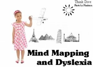 """Mind Mapping and Dyslexia - """"Mind mapping helps a child to break down the information and rather than having a read a text, he can show his understanding by using visual objects and associations that are visible to everyone."""""""