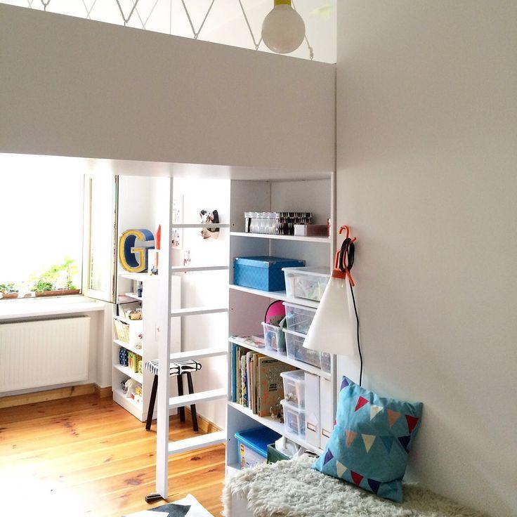 46 besten KiZi Bilder auf Pinterest Betten für kleine Räume - schlafzimmer mit spielbereich eltern kinder interieur idee ruetemple
