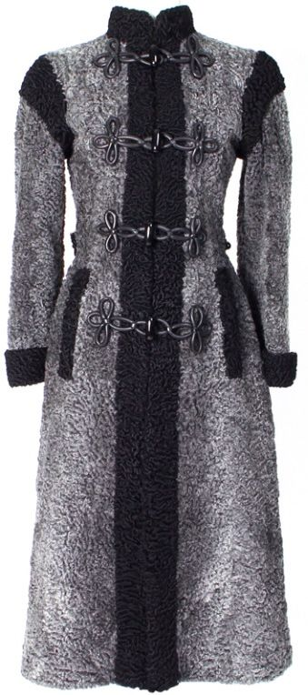 17 Best Images About Astrakhan Coats On Pinterest Coats Persian And Christian Dior Vintage