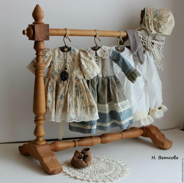 Купить Марусенька интерьерная текстильная коллекционная кукла на счастье - бежевый, голубой, синий, белый, кукла