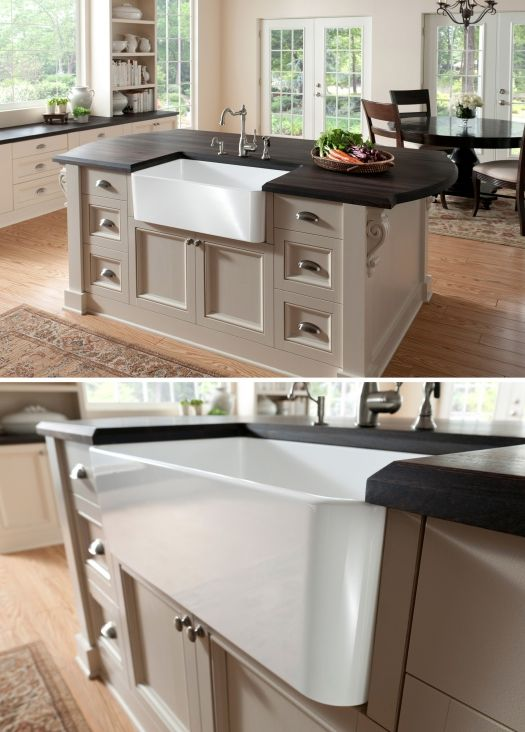 I hope to use in my projects one day!!Kitchens Miracle, Brunches, Cerana Aprons, Blanco Fireclay Sinks, Farmhouse Sinks, Blanco Cerana, Kitchens Sinks