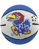 NCAA Kansas Jayhawks Basketball Smasher - NCAA Kansas Jayhawks Basketball Smasher      Plays Main Segmant of Fight Song and Team Slogan when SmashedHigh Quality Polyester with Fiber FillingTeam ColorsFull Color Embroidered Logo  Plush basketball that