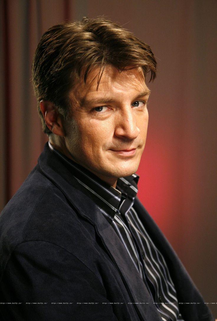Nathan Fillion. Protagonista de la sèrie de Castle.