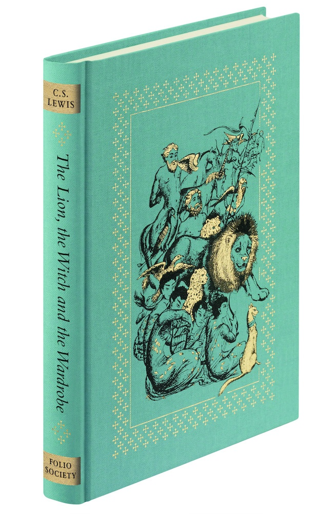 CS Lewis Facts: 11 Things You Never Knew About The Narnia Author✎  ~Narnia Folio Society Cover~  Lewis is best known for his 7 children's books, The Chronicles of Narnia. However, he also wrote 47 works of non-fiction, 11 of fiction and 4 poetry collections.     http://www.foliosociety.com/book/NAR/chronicles-of-narnia