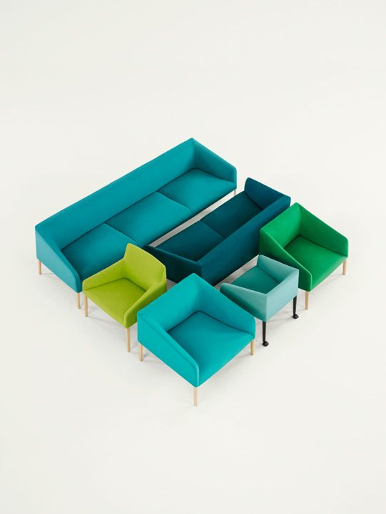 shapenoid:    Arper sofas via 2x4