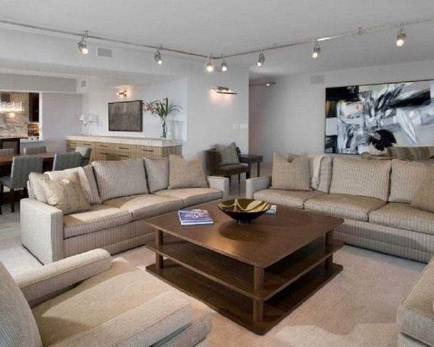 Track Lighting Living Room Di 2020 Desain Interior Rumah Desain Interior Interior Rumah