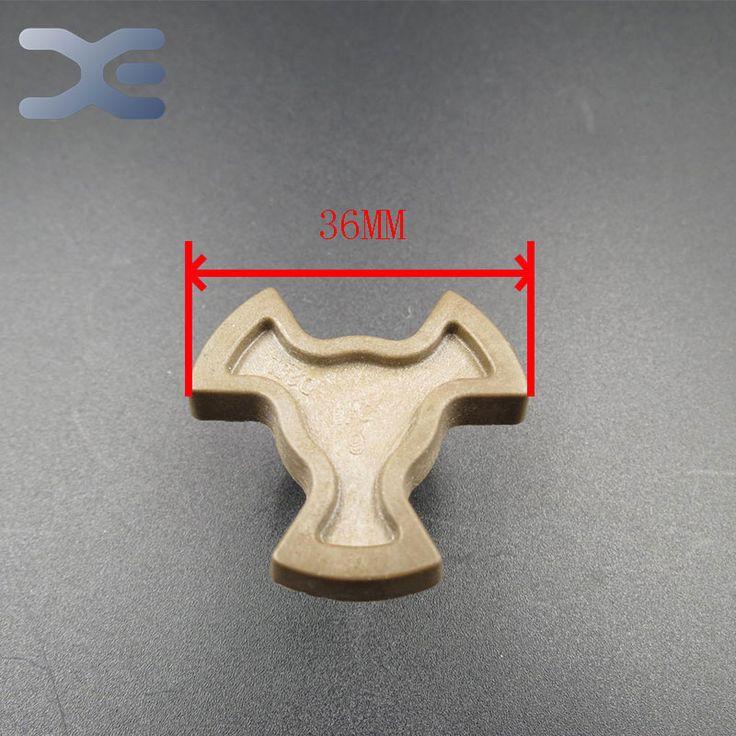 Horno de microondas de piezas de apertura de cama núcleo de acoplamiento magnetrón Onderdelen alta calidad duro plástico de microondas horno de vidrio piezas