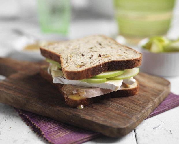 Brie, Honey Mustard & Turkey Sandwiches | Sandwiches, Burgers, Wraps ...