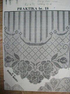 Tina's handicraft : curtain,