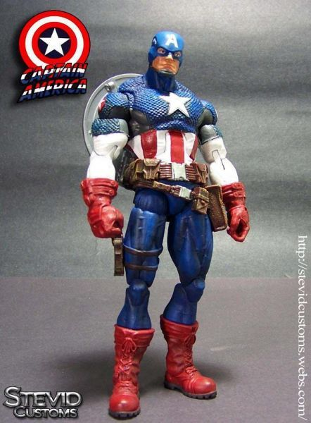 Captain America (Marvel Legends) Custom Action Figure