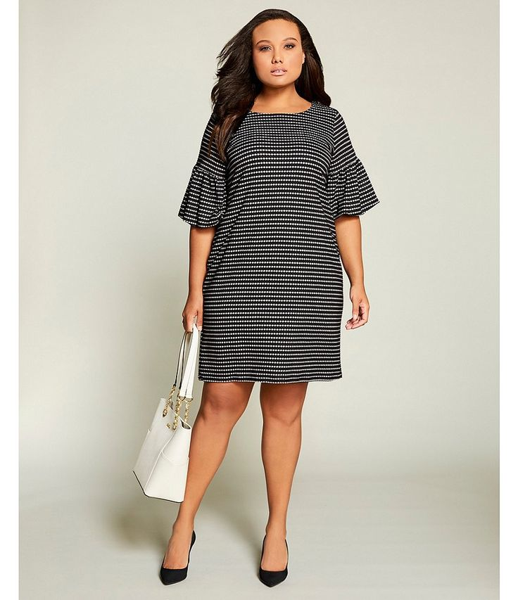 Shop for Calvin Klein Plus Honeycomb Stripe Flare Sleeve Dress at Dillards.com. Visit Dillards.com to find clothing, accessories, shoes, cosmetics & more. The Style of Your Life.
