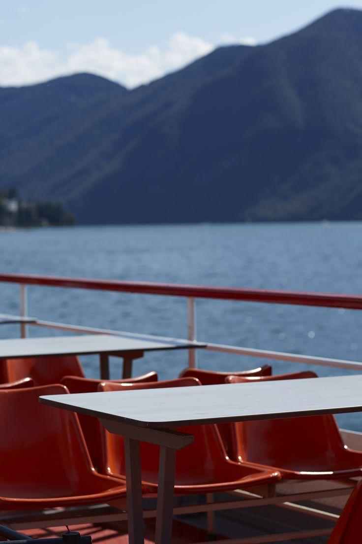 BUGATTI SPRING/SUMMER 2016   The calm before the storm... #bugattifashion #SS16 #bugattitravel #travelphotography #boat #Zurich #lake #nature
