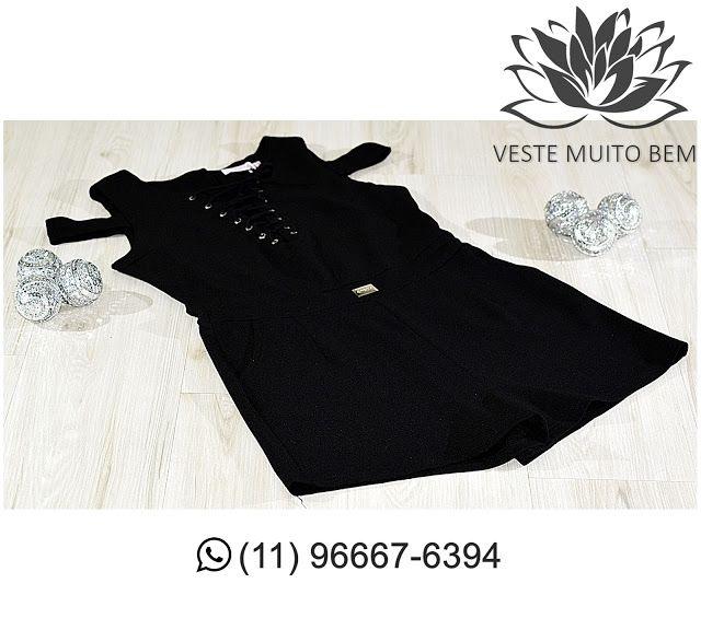 Macaquinho com Ilhós na Gola R$ 8500 (somente loja física) #vestemuitobem #moda #modafeminina #modaparameninas #estilo #roupas #lookdodia #roupasfemininas #tendência #beleza #bonita #gata #linda #elegant #elegance #jardimavelino