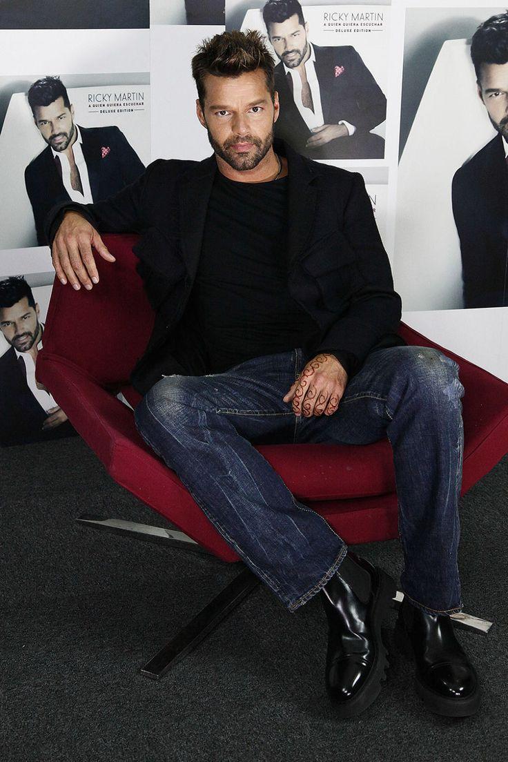 Ricky Martin  - HarpersBAZAAR.com
