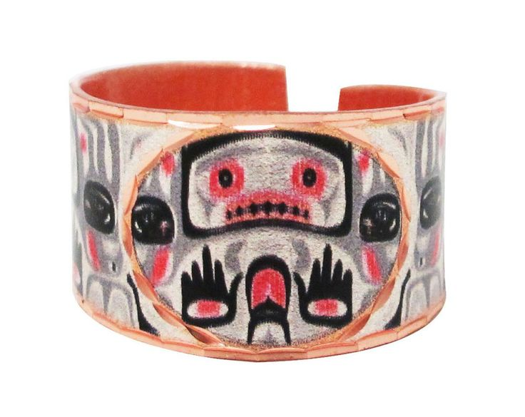 'Bear Box' Artist Collection Copper Ring