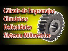 Cálculo de Engranajes Cilíndricos Helicoidales Sistema Milimétrico - Metalmecánica Fácil