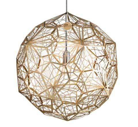 Designer Lighting Online Store Perth Australia | Replica Lights - Replica Tom Dixon Etch Web Gold Pendant Light - Premium, $379.00 (http://www.replicalights.com.au/replica-tom-dixon-etch-web-pendant-lights-gold/)