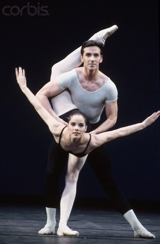 Darcey Bussell in Agon by George Balanchine.