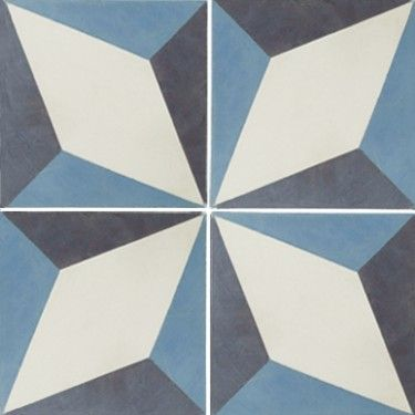 Encaustic Evora Floor Tile - but for the wall