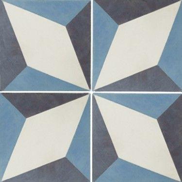 Encaustic Evora Floor Tile - but for the wall