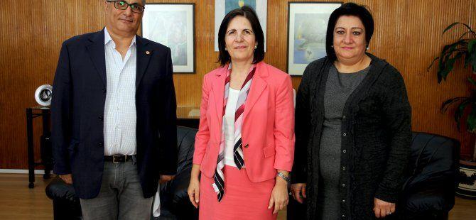 Siber, Kıbrıs Türk Tabipleri Odası Yönetim Kurulu'nu kabul etti