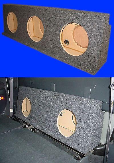 Speaker Sub Enclosures: Chevy Silverado Crewcab Hd 2001-07 10 3 Hole Grey Subwoofer Sub Enclosure Box -> BUY IT NOW ONLY: $131.25 on eBay!