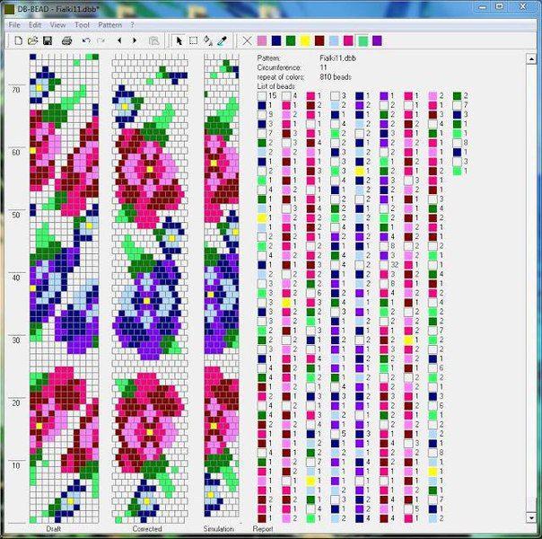 Жгуты из бисера схемы's photos – 4,642 photos   VK