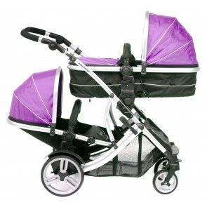 Duellette 21 BS Combo Magenta Pink carrycot/seat  + 1 car seat 0634041243913
