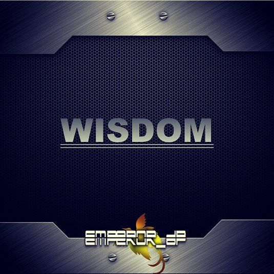 Wisdom simply refers to skill or skillsets entrepreneurs aquire doing their journey. It is the ability to learn do change and evolve until you become an entrepreneur. Entrepreneuship has so many definitions and to become one I strongly believe it is linked to character(s). This concludes the 60 Characters I believe entrepreneurs must have.  #EmperorDPCode