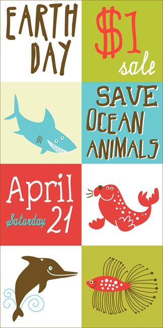 Buffalo Exchange April 21st Save Ocean Animals! All clothes $1