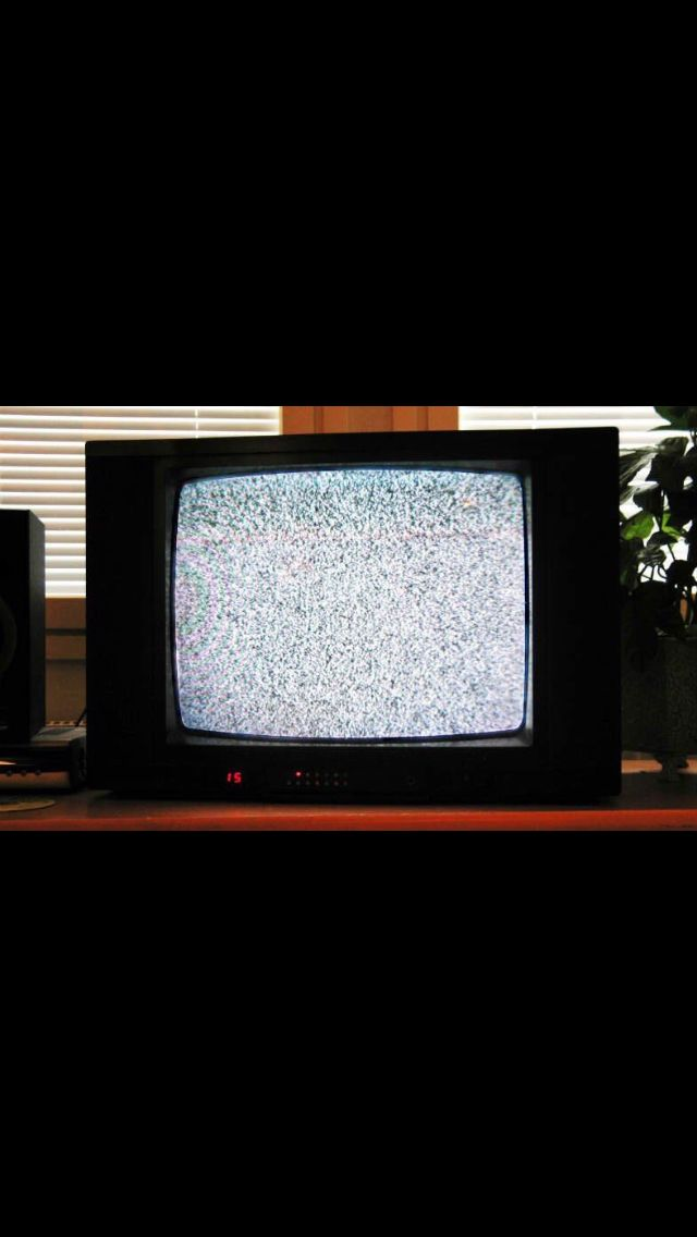 "The static on TV is referred to as ""myrornas Krig"" in Sweden, meaning ""War of the ants."""