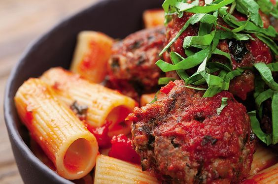 Shalane Flanagan isn't afraid of red meat. Let these juicy meatballs take your post-run pasta to the next level.