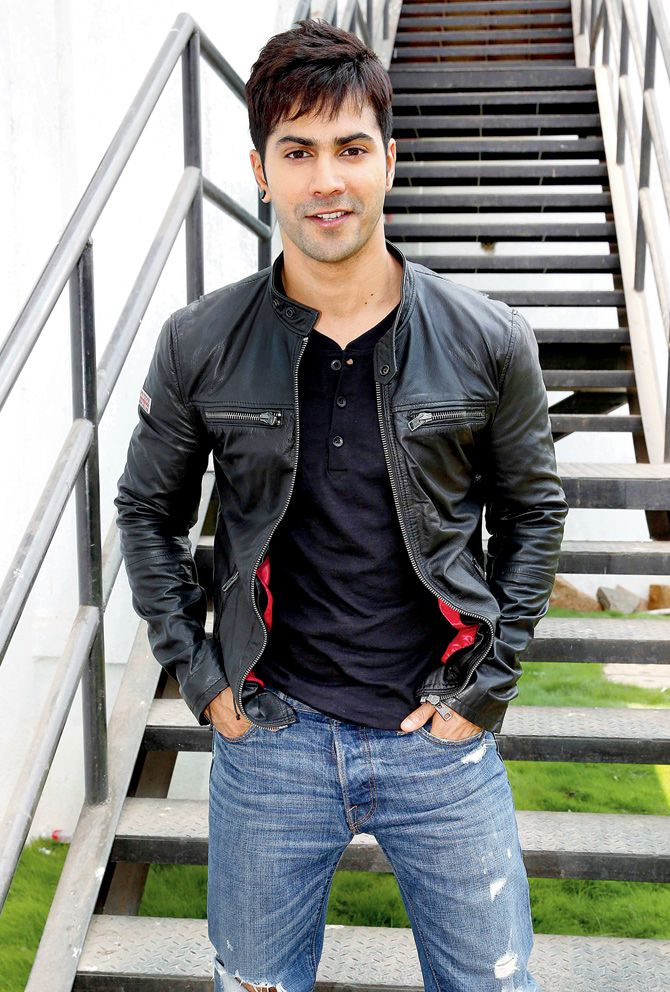 Varun Dhawan promoting 'ABCD' 2.