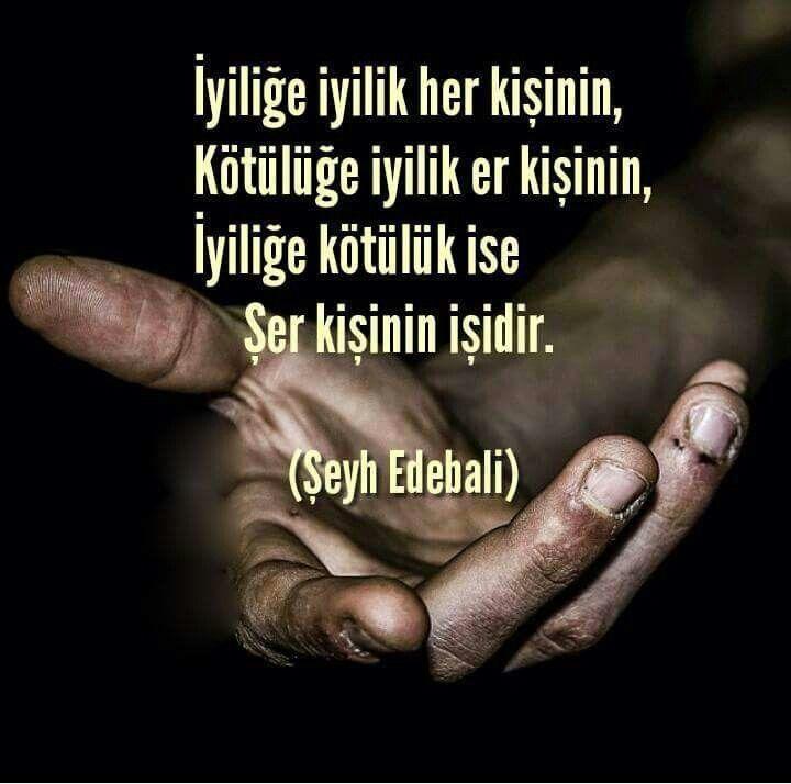 ❤️ Allahım..şer kişi olmaktan koru..Amin..