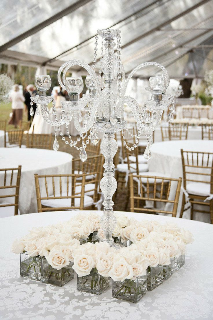 Attractive Crystal Centerpieces For Wedding Tables Ornament ...