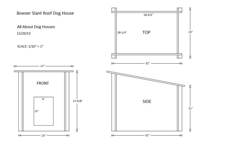 Dog house plans free flat roof woodworking projects plans House plan flat roof design
