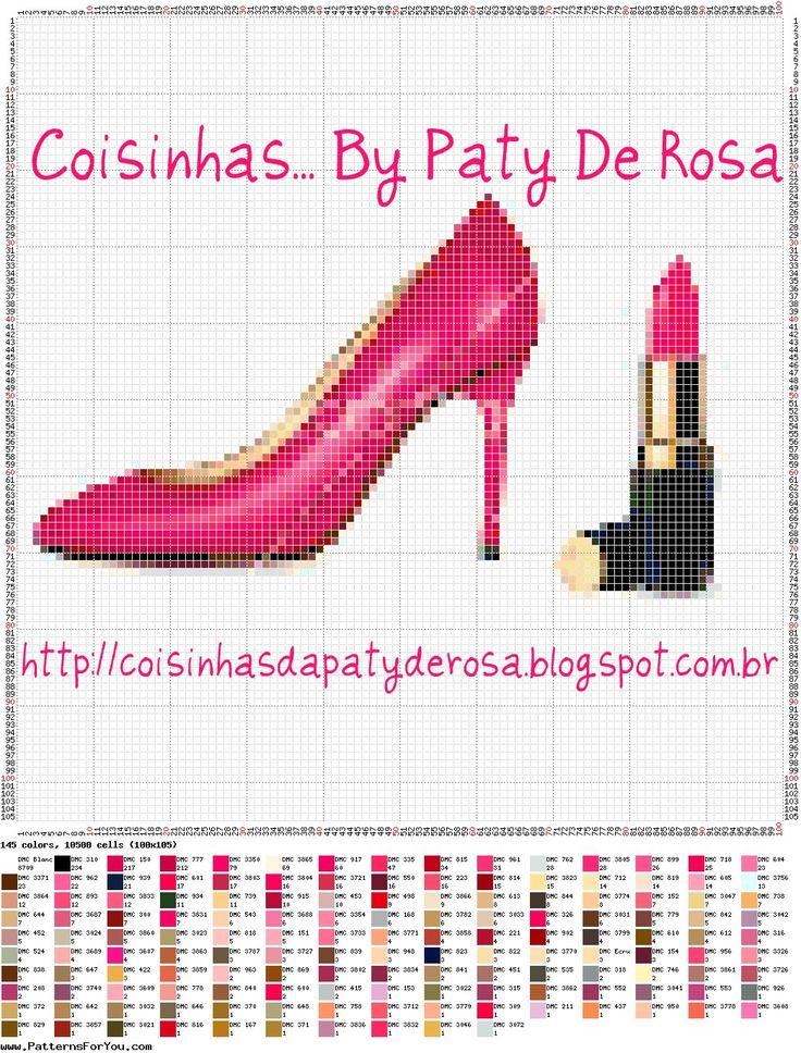 Coisinhas... By Paty De Rosa: MAKE UP, SHOES, ETC... SOMENTE PARA MULHERES!!!