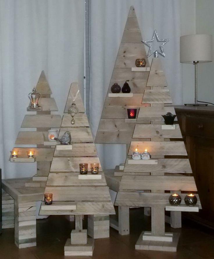 Resultado de imagen de arbol navidad madera