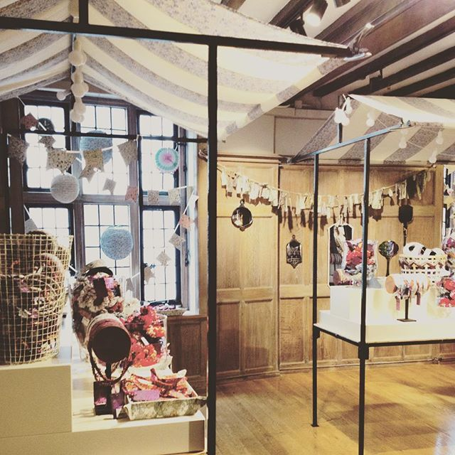 @alex.mg.fashion My new home in Liberty Print Gallery!! I am going to have so much fun working in this new department!! It opened today! Come check it out!!!:) #libertylondoncollaboration #liberty #regentstreet #carnabystreet #frenchsole #merina