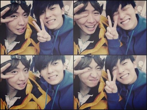 Chanyong and L.Joe