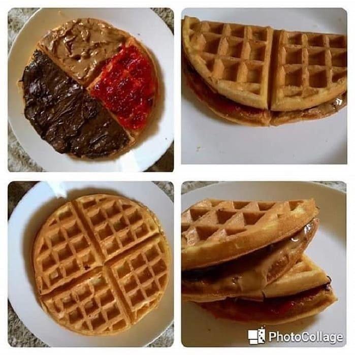 259 Likes 4 Comments Resepi Makanan Delicious Resepidelicious On Instagram Picit Like Ye Kak Resepi Waffle Lembut Ba Food Waffles Desserts