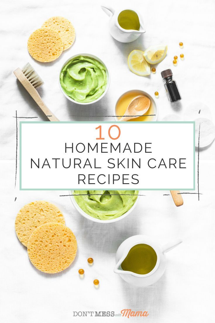 10 Homemade Natural Skin Care Recipes In 2020 Natural Skincare Recipes Natural Skin Care Skin Care Recipes