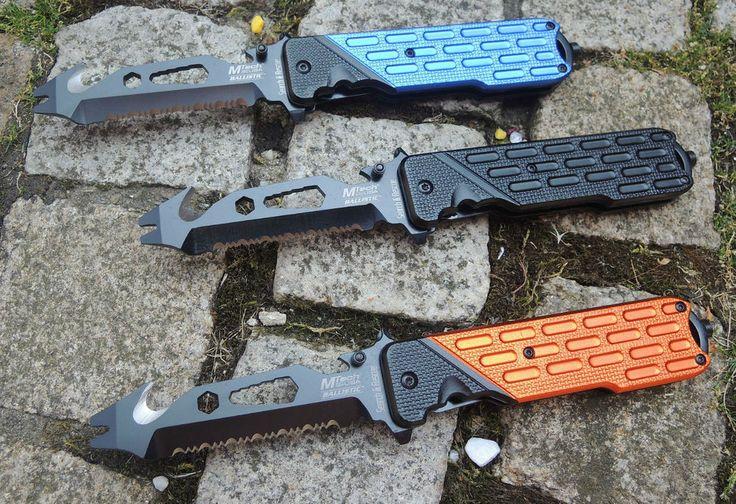MTech Search&Rescue Ballistic MultiTool Rescue Knife Werkzeug 440 Stahl