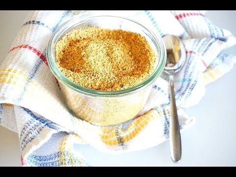 Dado vegetale granulare secco - in 12' nel microonde | Easy Recipe - YouTube