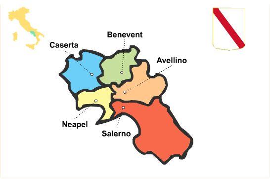 Region Kampanien - Campania Reiseführer http://www.italien-inseln.de/italia/kampanien-campania.html