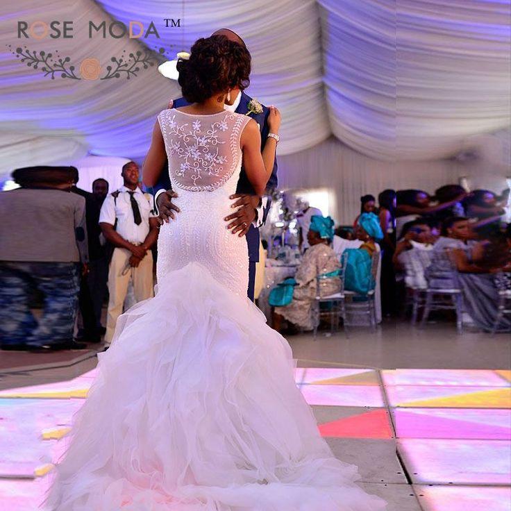 Mejores 60 imágenes de Mermaid Wedding Dress en Pinterest | Vestidos ...
